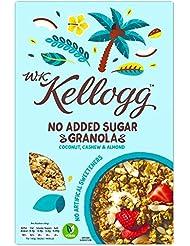 WK Kellogg Granola Coconut Cashew and Almond Cereal, 570 g