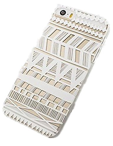 acefast INC Kunststoff Schutzhülle für iPhone 55S 5C 66Plus Henna itzli Maya-Aztec Tribal (für iPhone 5C) (Inc Acefast)
