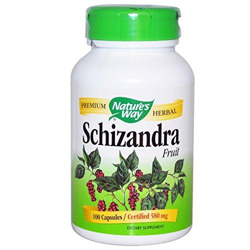 Schizandra fruta, 580 mg, 100 Cápsulas - Camino de la Naturaleza