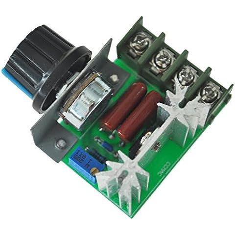 2000W Regulador De Voltaje Oscurecer Luz Temperatura Velocidad Control