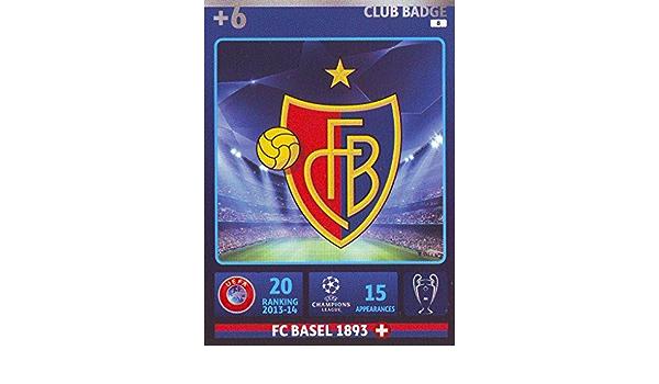 Champions League Adrenalyn XL 2014//2015/FC Basel Club Badge 14//15