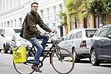 BIKEZAC® Clip-On EINKAUFS-FAHRRADTASCHE (Einseitige Einkaufstasche Faltbar Wasserabweisend Trageschlaufen), BikeZac:Green Test