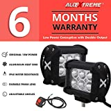 ALLEXTREME 6 LED Fog Light 4-inch Double Output Power Spot Flood Water Resistant
