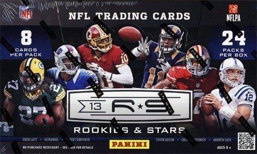 Preisvergleich Produktbild 2013 Panini Rookies & Stars Football Hobby Box NFL