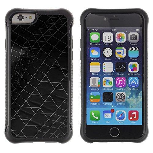 Graphic4You BLUE STRIPES Muster Shockproof Anti-Rutsch Weichen Hülle Case Tasche Schutzhülle für Apple iPhone 6 Plus / 6S Plus Design #18