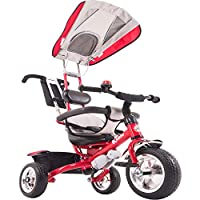 864b7119579 Kiddo Smart Design 4-in-1 Childrens Tricycle Kids Trike 3 Wheel Bike Parent