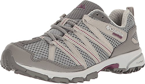Columbia Mountain Masochist III Outdry - Chaussures de running - gris 2017 monument/dark raspberry
