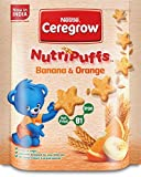 #8: Nestle Ceregrow NutriPuffs - 50 g (Banana and Orange)