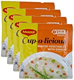 #9: Big Bazaar Combo - Maggi Soup Mix Ginger, 15g (Buy 3 Get 1, 4 Pieces) Promo Pack