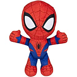 Spiderman-71301 Spiderman Peluche, 19 cm,, (Famosa 760015038)
