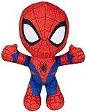 Spiderman-71301 Spiderman Peluche, 19 cm,, (Famosa 760015038)