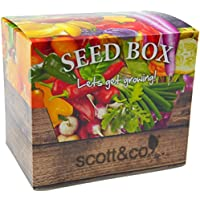 Scott & Co NEW Seed Box - The Seed Box Contains 30 Different Varieties Of Seeds To Grow. Making it An Ideal Gift For Gardeners.