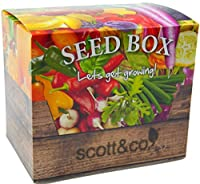 Your Seed Box Includes The Following Seeds Purple Haze Carrots, Atena Polka Yellow Courgettes, Rudolph Broccoli, Red Brussel Sprouts, Multi coloured Swiss Chard, Tigerella Tomatoes. Tomato Fruit seeds Banana Legs, Tomato Fruit Seeds Black Krim, Tomat...