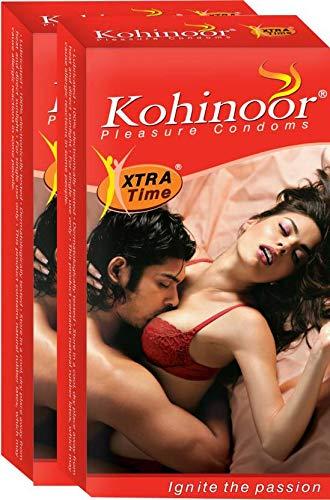 Kohinoor Pleasure Condom - 40 S (Set of 4)