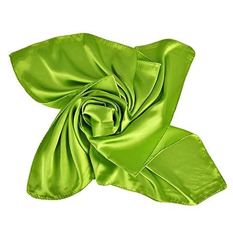 Heyjewels Damen Schal Uni Tuch Bandana Halstuch Kopftuch in Verschiedene Farben