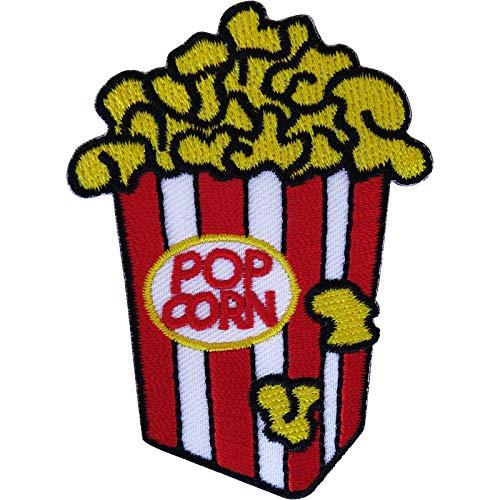 Popcorn Patch Eisen auf annähen Kleidung Taschen Bestickt Abzeichen Stickerei Applique -