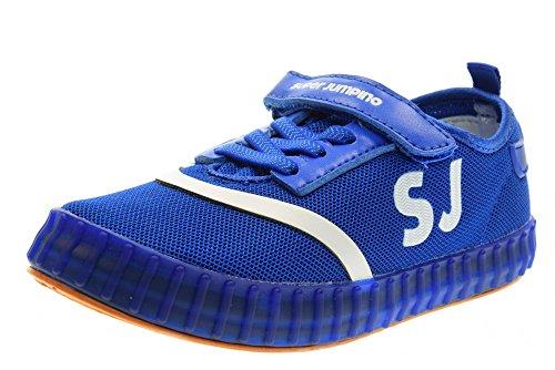 SUPERJUMPINO chaussures pour bébés / chaussures de sport à faible RP2934 ELECTRIC BLUE Blu elettrico