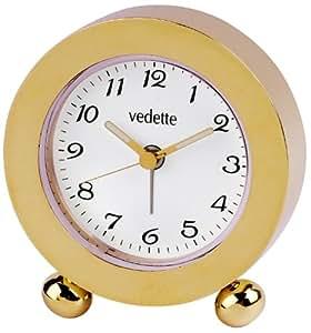 Vedette - VR50009 - Réveil De Style en Laiton - Doré