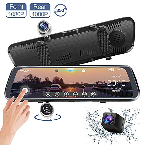 CHICOM Mirror Dash Cam, V33 10 I...