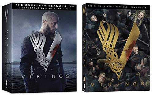 Vikings: Season 1-4 & 5 (Part 1) [DVD]