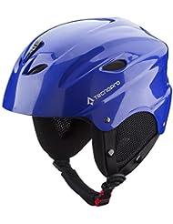 Tecno Pro casco base SK538, color  - azul, tamaño medium