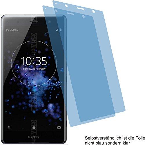 4ProTec 2X ANTIREFLEX matt Schutzfolie für Sony Xperia XZ2 Premium Bildschirmschutzfolie Displayschutzfolie Schutzhülle Bildschirmschutz Bildschirmfolie Folie