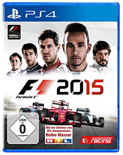 formel eins ps4 F1 2015 - [PlayStation 4]