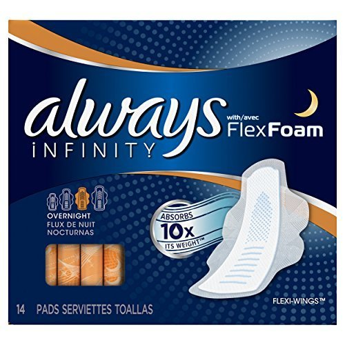 always-infinity-unscented-pads-with-wings-overnight-14-count-pack-of-4-by-always