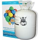 Helium Ballongas für Ballons aus Latex oder Folienballons 240 Liter XXL Einwegflasche . Versand von Haus der Herzen