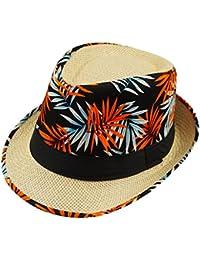 Amazon.es  Naranja - Sombreros Panamá   Sombreros y gorras  Ropa 98fb7bda3f2