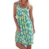 Damen Kleider Lang,Damen Party Kleider Damen Sexy Sari Kleider Bollywood Maxi Kleider Damen Blumen Kleider Damen Hochzeit Kleider Damen Kleider Spitze (Blau,XL)