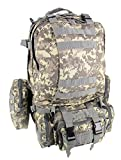 SHARK ARMY Taktischer Militärischer Rucksack Trekkingrucksack Angriffsrucksack Assault Backpack Wanderrucksack MBB001