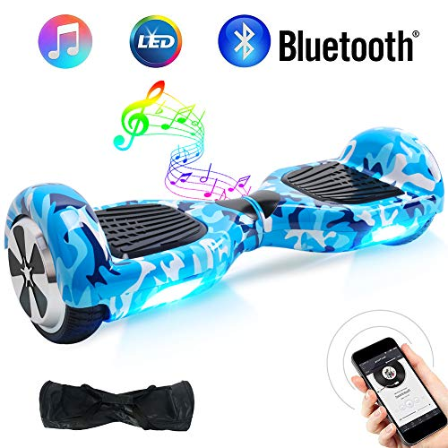 BEBK Overboard 6,5 Pouces Hoverboard Bluetooth,...