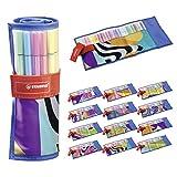 Pennarello Premium - STABILO Pen 68 -  Rollerset con 25 colori assortiti - Just like you Edition