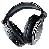 Golzer BANC-70s - Casque d'écouteur Supra-auriculaire à Annulation Active du Bruit sans Fil avec Bluetooth et ShareMe - Active Noise Cancelling Headphones