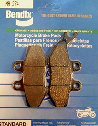 Pastiglie freno per 50 cc HM CRE del 2006 ha 2006 MA274 stato nuovo-Pastiglia freni MA 274 Bendix