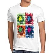 style3 Che Guevara Pop T-Shirt Herren kuba revolution