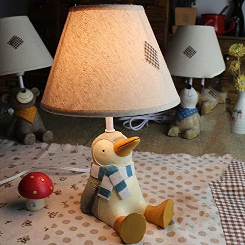 EFGS Children's Room Cartoon Mesa lámpara para niños, niñas, Dormitorio, Regalo de Kindergarten,C