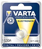 Batterie Knopfzellen, IEC-Code LR44, 1,5 V/125 mAh, Chem. System Alkali-Mangan