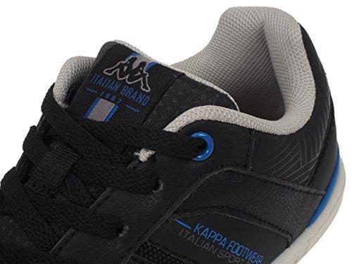 Kappa - Batou kid noir ville - Chaussures basses cuir ou synthétique Noir
