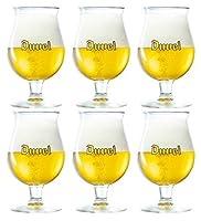 lot de 6 verres Duvel 33 cl