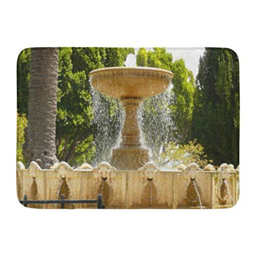 LIS HOME Bad Matte Stadt Sausalito Brunnen Kalifornien Reisen Badezimmer Dekor Teppich