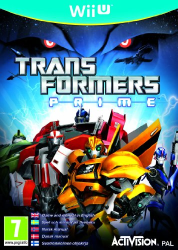 NEW & SEALED! Transformers Prime Nintendo Wii U Game UK PAL (Wii U-transformers)