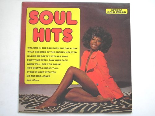 Soul Hits LP Stereo Gold Award MER411 EX/EX 1976 not original artists Ex Stereo