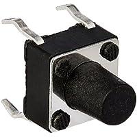 Proto Cool 55Pcs Momentary Tact Tactile Push Button 6x6x7.5mm 4-pin DIP