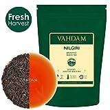 Tè Nilgiri in foglie dall'India (150+ tazze), Raccolta Prime Season 100% puro tè nero Nilgiri non miscelato, certificato, 340g