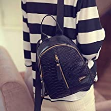 zarupeng Las mujeres de moda de cuero mochilas bolsas de viaje bolsa de viaje
