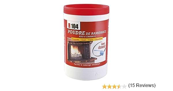 6 doses Propfeu poudre de ramonage chimique GEB bo/îte 700 g