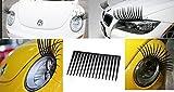 Car Headlight Eyelashes - Universal Fits Any Car - High Quality Decal