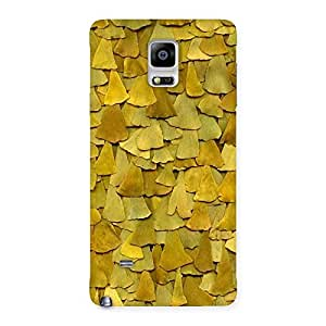 Impressive Wings Pattern Back Case Cover for Galaxy Note 4